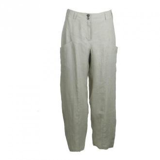 E E Pants 11895-1 Spodnie Beżowy Dorośli Kobiety Rozmiar: S