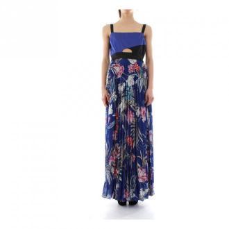 Liu Jo Maxi Sukienka Sukienki Niebieski Dorośli Kobiety Rozmiar: S -