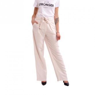Marella Trousers Solid Color Emme Stadio Spodnie Różowy Dorośli