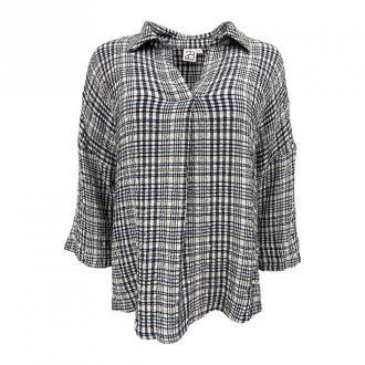 2-Biz Hildur Skjorte Bluzki i koszule Szary Dorośli Kobiety Rozmiar: S