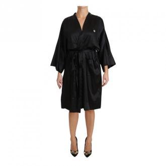 Kimono Gown Silk Dressing Robe