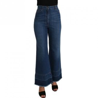 Dolce & Gabbana Spodnie jeansowe Jeansy Niebieski Dorośli Kobiety