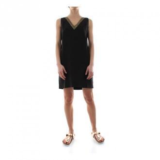 Masons Mason's Sara 4Ab3653P Mb0300 Dress Women Nero Sukienki Czarny