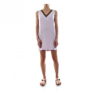 Masons Mason's Sara 4Ab3653P Mb0300 Dress Women Sabbia Sukienki Różowy