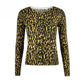 Guess Kardigan Swetry i bluzy Żółty Dorośli Kobiety Rozmiar: S