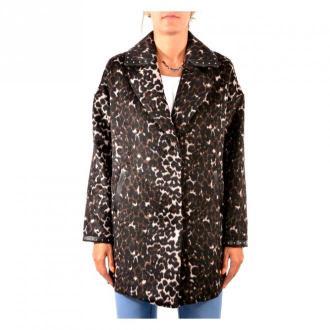 Guess Coat Płaszcze Brązowy Dorośli Kobiety Rozmiar: L