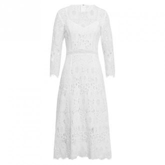 Midi Bridal Lace Dress Vintage