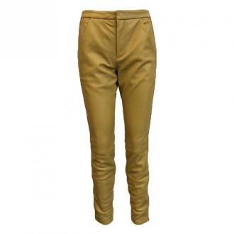 Onstage Leather trousers Spodnie Żółty Dorośli Kobiety Rozmiar: 38
