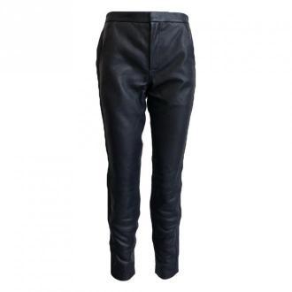 Onstage Leather trousers Spodnie Niebieski Dorośli Kobiety Rozmiar: 40