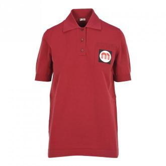 Miu Miu Polo shirt Koszulki i topy Czerwony Dorośli Kobiety Rozmiar: