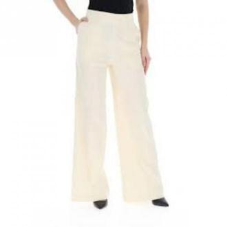 Pinko Luigia Pants Spodnie Beżowy Dorośli Kobiety Rozmiar: 40