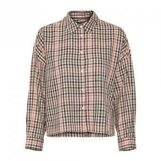 Part Two Koszula 30305428 Bluzki i koszule Brązowy Dorośli Kobiety