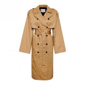 Gestuz Coat 10904782 Płaszcze Brązowy Dorośli Kobiety Rozmiar: Xs/s