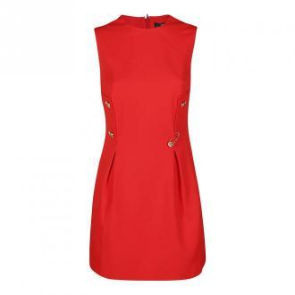 Versace Sukienka Sukienki Czerwony Dorośli Kobiety Rozmiar: S - 42 IT