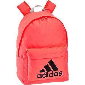 Różowy plecak adidas Classic z czarnym logo