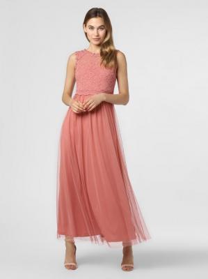 Vila - Damska sukienka wieczorowa – Vilynnea, różowy