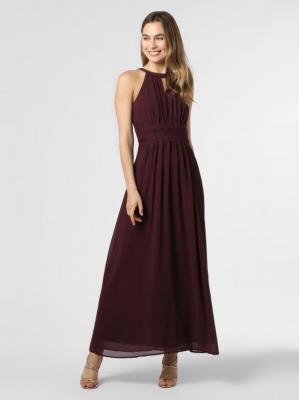 Vila - Damska sukienka wieczorowa – Vimilina, czerwony