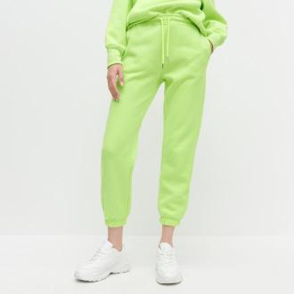 Reserved - Neonowe spodnie dresowe - Zielony