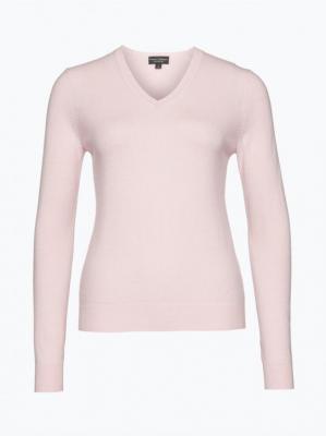 Franco Callegari - Sweter damski z czystego kaszmiru, różowy