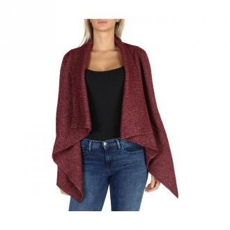 Calvin Klein Cardigan J20J201041 Swetry i bluzy Czerwony Dorośli
