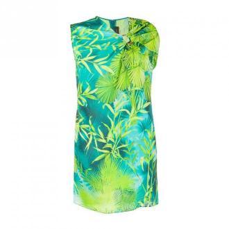 Versace z nadrukiem Sukienka Sukienki Zielony Dorośli Kobiety Rozmiar: