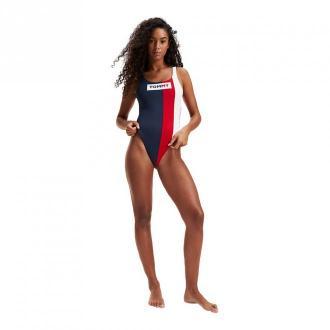 Tommy Hilfiger Jednoczęściowy strój kąpielowy morze i basen Moda