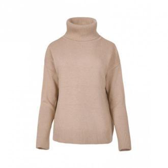 Veva Golf Warmest Sounds Swetry i bluzy Beżowy Dorośli Kobiety