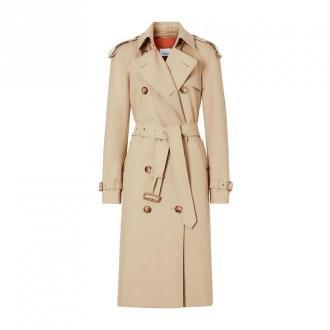 Burberry Trench Coat Płaszcze Beżowy Dorośli Kobiety Rozmiar: UK 6