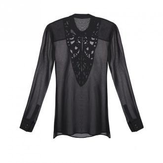 Guess Bluzka Bluzki i koszule Czarny Dorośli Kobiety Rozmiar: 34