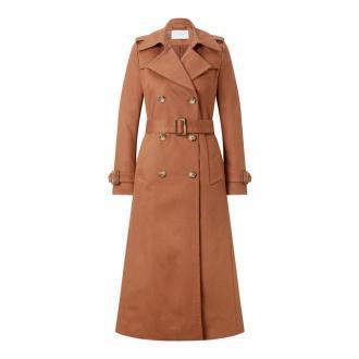 IVY & OAK Classic Trenchcoat Płaszcze Brązowy Dorośli Kobiety Rozmiar: