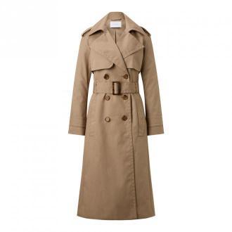 IVY & OAK Trenchcoat Płaszcze Beżowy Dorośli Kobiety Rozmiar: 36