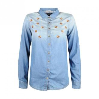 Tommy Hilfiger Koszula 'Bria' Bluzki i koszule Niebieski Dorośli