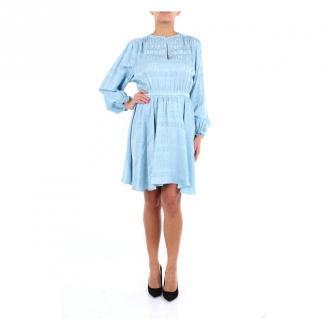 Versace Collection dress Sukienki Niebieski Dorośli Kobiety Rozmiar: M