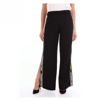Karl Lagerfeld Spodnie Spodnie Czarny Dorośli Kobiety Rozmiar: 42 IT