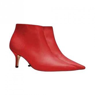 Tommy Hilfiger Boots Obuwie Czerwony Dorośli Kobiety Rozmiar: 37