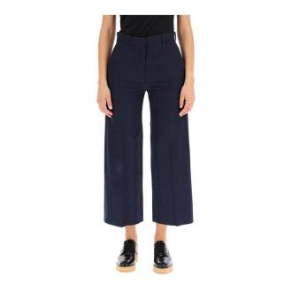 Kenzo Trousers Spodnie Niebieski Dorośli Kobiety Rozmiar: 38 FR