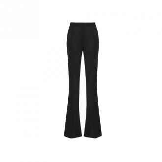 Anoire Spodnie garniturowe dzwony Spodnie Czarny Dorośli Kobiety