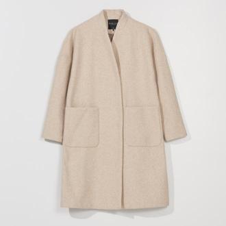 Mohito - Oversizowy płaszcz - Beżowy