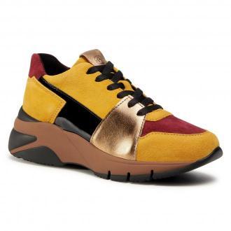 Sneakersy TAMARIS - 1-23765-25 Mustard Comb 644