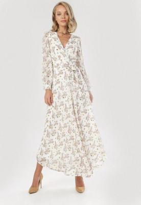 Biała Sukienka Brizrya