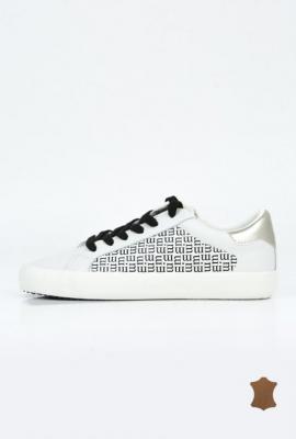 Sneakersy damskie ze skóry
