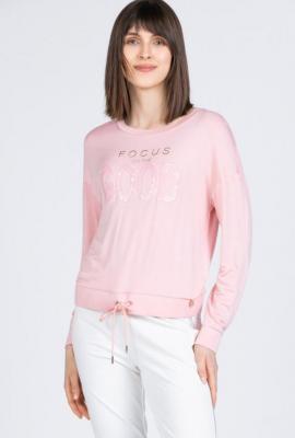 Bluza z cekinowym napisem