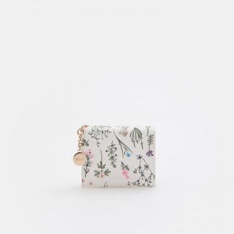 Mohito - Portfel z kwiatowym nadrukiem - Wielobarwny