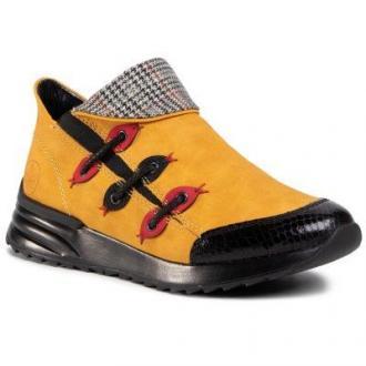 RIEKER X8082-01 Żółty
