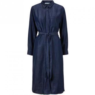Masai Shirtwaist Sukienki Niebieski Dorośli Kobiety Rozmiar: L - 40
