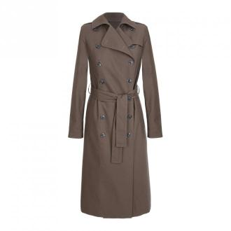 Nife Coat Płaszcze Brązowy Dorośli Kobiety Rozmiar: 40