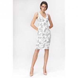 Nife Dress Sukienki Biały Dorośli Kobiety Rozmiar: L - 40