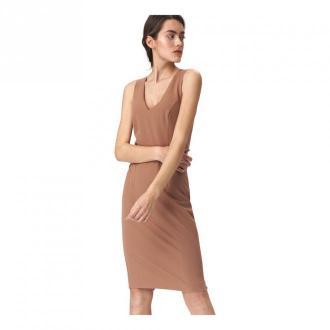Nife Dress Sukienki Brązowy Dorośli Kobiety Rozmiar: M - 38