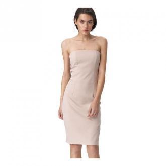 Nife sukienka tuba Sukienki Beżowy Dorośli Kobiety Rozmiar: 2XL - 44
