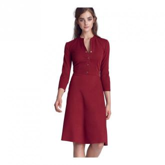 Nife Dress Sukienki Brązowy Dorośli Kobiety Rozmiar: L - 40